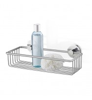 Zack Scala Polished Stainless Steel 31cm Shower Basket 40085