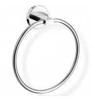 Zack Scala Polished Stainless Steel Towel Ring 40096