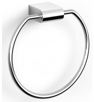 Zack Atore Polished Stainless Steel Towel Ring 40461
