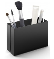 Zack Potes 15cm Black Stainless Steel Makeup Utensil Box 40535