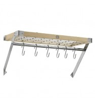 Classic Collection Natural Rectangular Wall Rack 41806