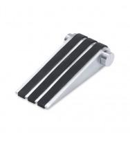 Zack Argos Brushed Stainless Steel Door Wedge 50616