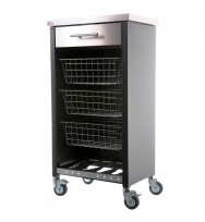 Chelsea Kitchen Trolley - Black