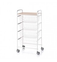Fiesta Beech Kitchen Trolley