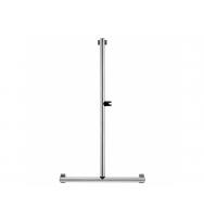 Pellet Arsis L or T-Shaped Elliptical Shower Bar - Bright Anodized Aluminium