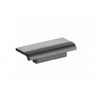 Pellet Arsis Evolution Clip On Shower Shelf - Anthracite Grey