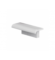 Pellet Arsis Evolution Clip On Shower Shelf - White