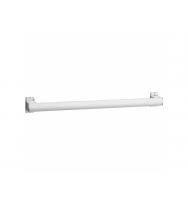 Pellet Arsis 400mm Straight Grab Bar/Towel Rail - White Epoxy-coated Aluminium