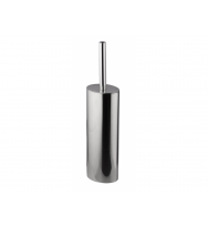 Pellet Arsis Elliptical Toilet Brush & Holder - Chrome-plated Stainless Steel