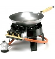 Original 7.0Kw Hot Wok 4 Piece Gas Burner Set