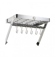Metro Chrome Wall Rack 90600