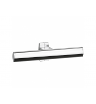 Pellet Arsis Elliptical Double Toilet Roll Holder - Bright Anodized Aluminium