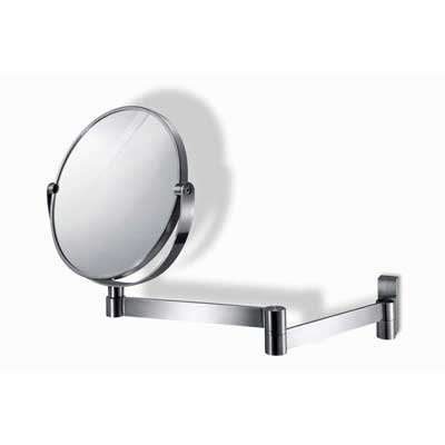 Fresco Magnifying and Extendable Wall Mirror