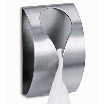 Zack Stainless Steel Genio Self-Adhesive Towel Clip