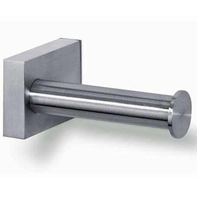 Zack Fresco Single Stainless Steel Toilet Roll Holder