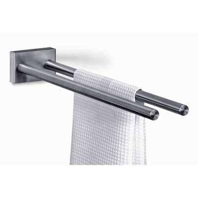 Zack Stainless Steel Fresco Fixed Double Towel Rail