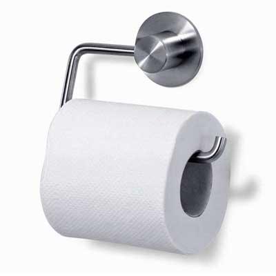 Zack Stainless Steel Marino Toilet Paper Holder