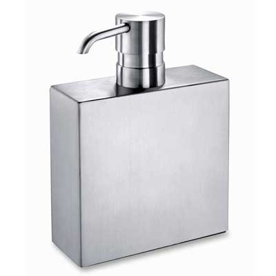 Zack Stainless Steel Sapone 10cms Soap Dispenser