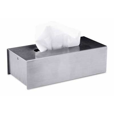 Zack Stainless Steel Puro tissue box