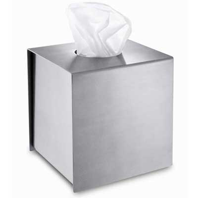 Zack Stainless Steel Tassuto Tissue Box