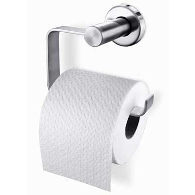 Zack Stainless Steel Foccio Toilet Roll Holder