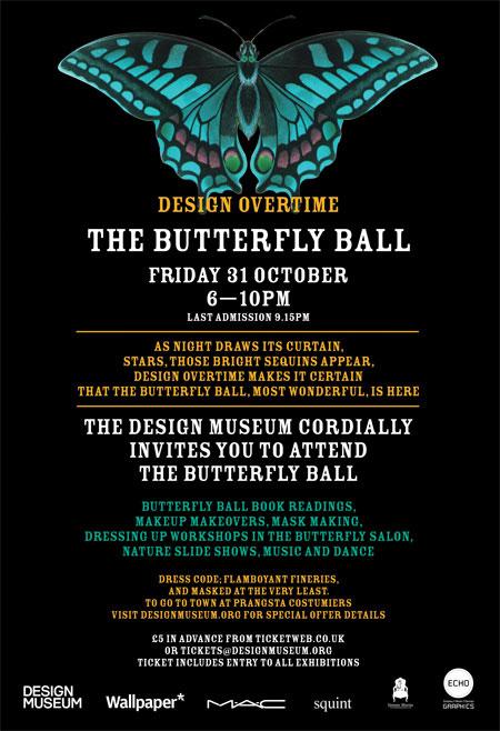 Butterfly Ball Poster