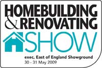 east of england home building and renovation logo