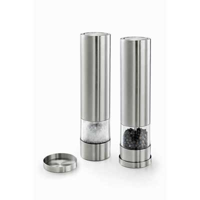 Zack Facile electric salt and pepper mills