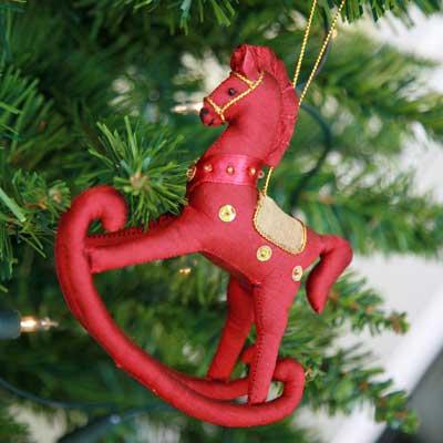 Silk Rocking Horse £6