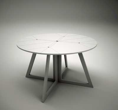 Grand Central Table - unfolded