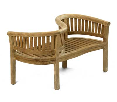 Banana Bench Love Seat