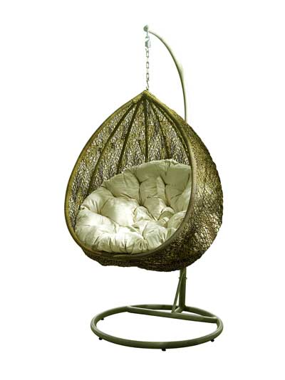 teardrop garden hanging chair
