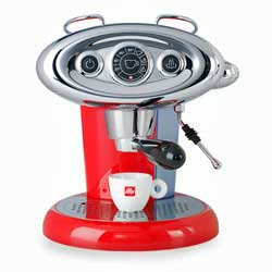 Francis Francis X7 iperEspresso in red