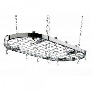 Hahn Oval Chrome Ceiling Rack